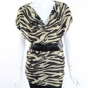 Zora Fashion Women's Small Leopard Top